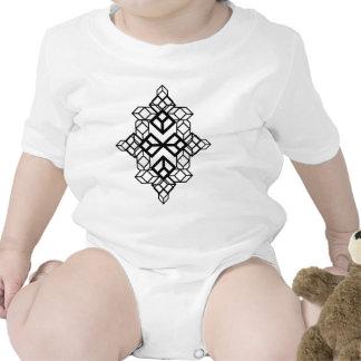 Mapa del diamante traje de bebé