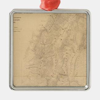 Mapa del distrito de las altas mesetas de Utah Adorno De Reyes