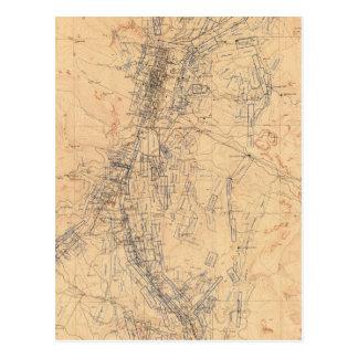 Mapa del distrito de Washoe que muestra demandas Postal
