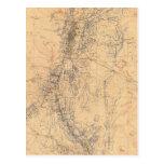 Mapa del distrito de Washoe que muestra demandas Tarjetas Postales