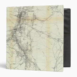 "Mapa del esquema del distrito de Washoe Carpeta 1 1/2"""