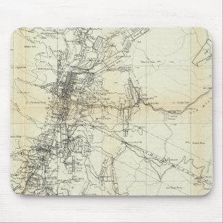Mapa del esquema del distrito de Washoe Mousepads