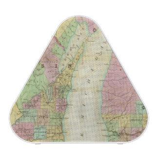 Mapa del estado de Michigan Altavoz