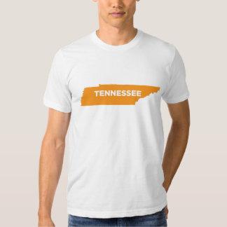 Mapa del estado de Tennessee Playera