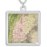 Mapa del este de Olney de los estados Colgante Cuadrado