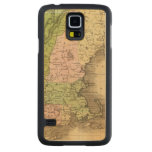 Mapa del este de Olney de los estados Funda De Galaxy S5 Slim Arce