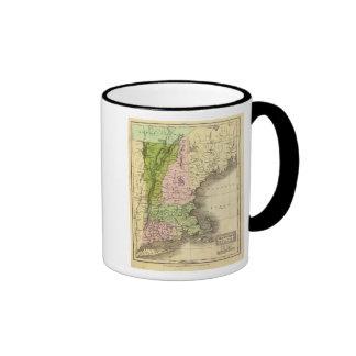 Mapa del este de Olney de los estados Tazas De Café