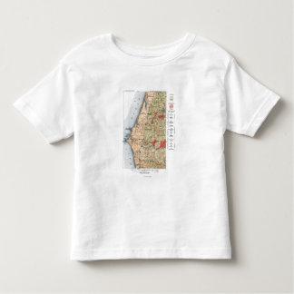 Mapa del estudio geológico de los E.E.U.U. Playera De Bebé
