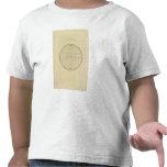 Mapa del hemisferio camiseta
