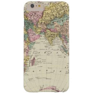 Mapa del hemisferio del este funda barely there iPhone 6 plus