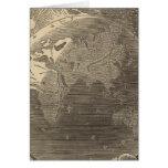 Mapa del hemisferio del este por Goodrich Tarjeta De Felicitación