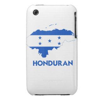 MAPA DEL HONDURAN iPhone 3 Case-Mate FUNDAS