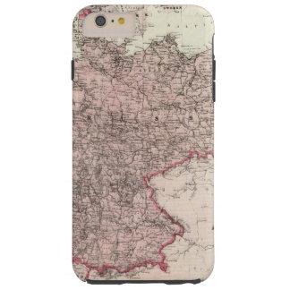 Mapa del imperio alemán funda para iPhone 6 plus tough