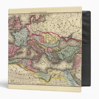 """Mapa del imperio romano carpeta 1 1/2"""""""