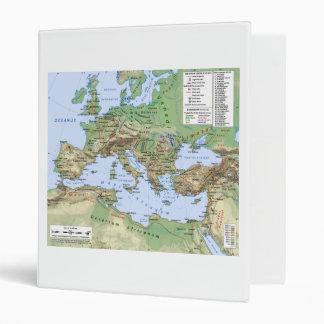 Mapa del imperio romano durante el reinado del emp