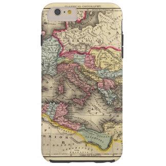 Mapa del imperio romano funda de iPhone 6 plus tough