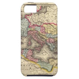 Mapa del imperio romano iPhone 5 carcasas