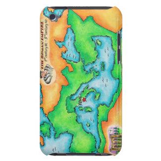 Mapa del imperio romano iPod Case-Mate fundas