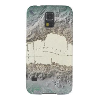 Mapa del lago Tahoe Carcasas Para Galaxy S5
