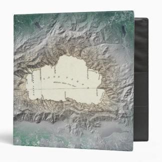 """Mapa del lago Tahoe Carpeta 1 1/2"""""""