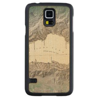 Mapa del lago Tahoe Funda De Galaxy S5 Slim Arce
