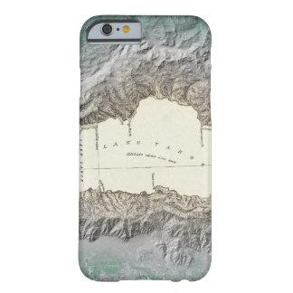 Mapa del lago Tahoe Funda De iPhone 6 Barely There
