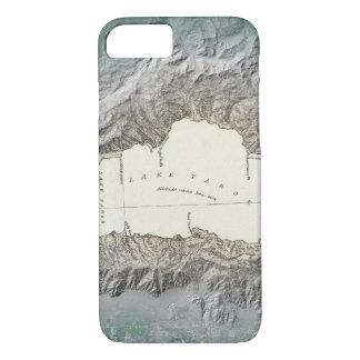 Mapa del lago Tahoe Funda iPhone 7