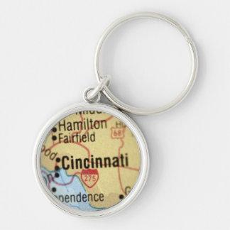Mapa del llavero del premio de Cincinnati