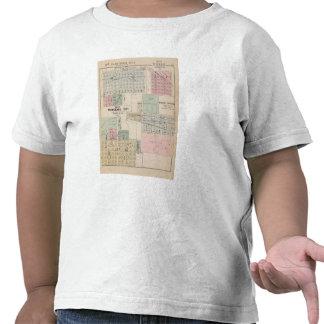 Mapa del mapa de la ciudad del Winnebago de la Camisetas