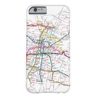 Mapa del metro de Ciudad de México Funda Para iPhone 6 Barely There