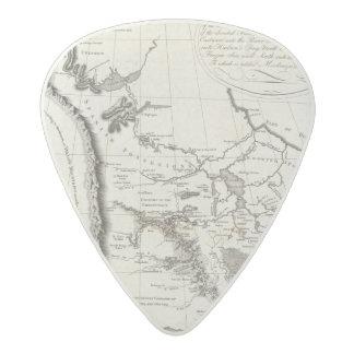 Mapa del Missouri Púa De Guitarra Acetal