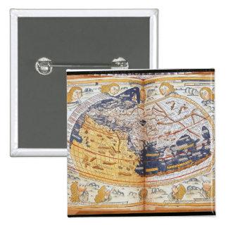 Mapa del mundo, 1486 pin cuadrado
