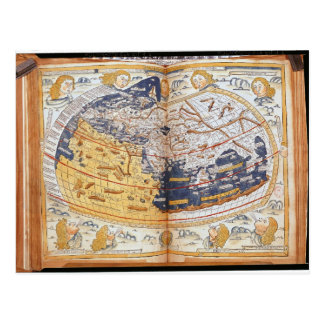 Mapa del mundo, 1486 postales