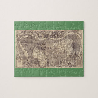 Mapa del mundo 1507 de Martin Waldseemuller Puzzle