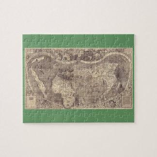 Mapa del mundo 1507 de Martin Waldseemuller Rompecabeza
