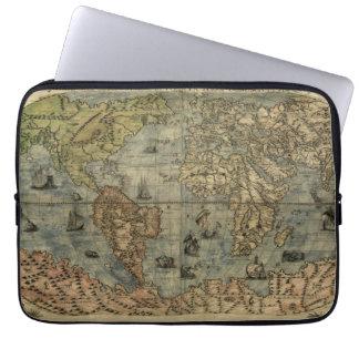 Mapa del mundo 1565 de Ferando Berteli (Fernando B Funda Computadora