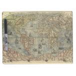 Mapa del mundo 1565 de Ferando Berteli (Fernando B Tableros Blancos