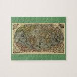 Mapa del mundo 1565 de Ferando Berteli (Fernando B Rompecabeza Con Fotos