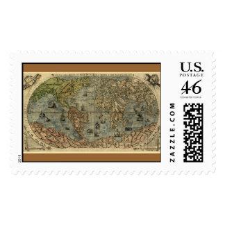 Mapa del mundo 1565 de Ferando Berteli Fernando B