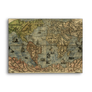 Mapa del mundo 1565 de Ferando Berteli (Fernando B