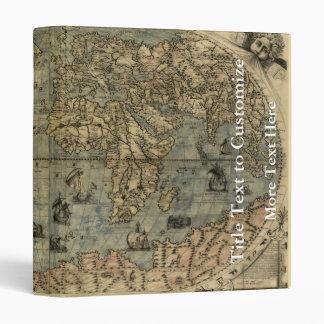 """Mapa del mundo 1565 de Ferando Berteli (Fernando Carpeta 1"""""""