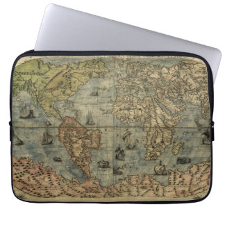 Mapa del mundo 1565 de Ferando Berteli (Fernando Funda Computadora