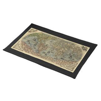 Mapa del mundo 1565 de Ferando Berteli (Fernando Mantel