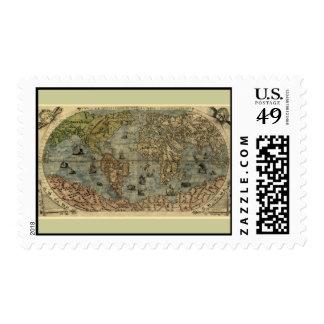 Mapa del mundo 1565 de Ferando Berteli (Fernando Envio