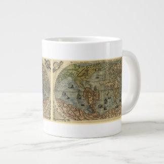 Mapa del mundo 1565 de Ferando Berteli (Fernando Taza Grande