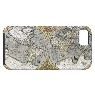 Mapa del mundo 1587 iPhone 5 Case-Mate funda