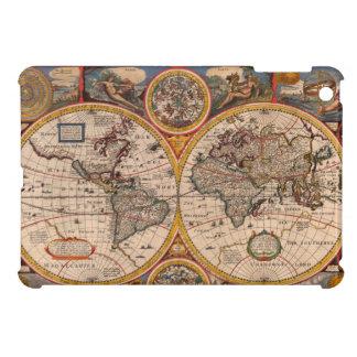 Mapa del mundo 1651 del renacimiento