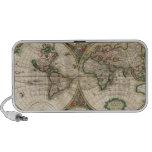 Mapa del mundo 1671 mp3 altavoz
