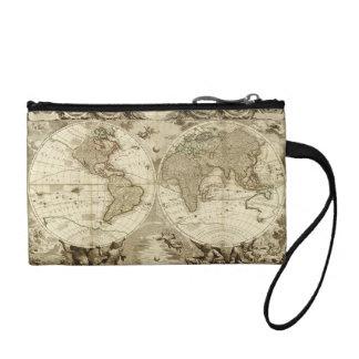 Mapa del mundo 1708 de Jean Baptiste Nolin