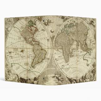"""Mapa del mundo 1708 de Jean Baptiste Nolin Carpeta 1"""""""